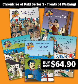 Chronicles of Paki Series 3 - Treaty of Waitangi $64.90